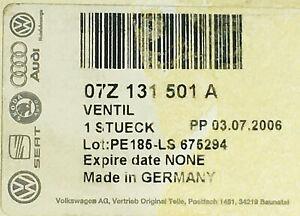 NEU ORIGINAL VW PHAETON TOUAREG  V10 5.0 TDI AGR VENTIL ABGASRÜCKFÜHRUNGSVENTIL