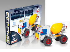 Iron Commander Metal Construction Kit Magical Model - Cement Mixer - 183 Pcs