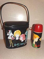Barbie: Htf Vintage Barbie Brunch Bag Lunchbox & Thermos!