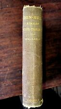 Ben Hur A Tale of the Christ; Lew Wallace Harper & Brothers 1880; 1st edition