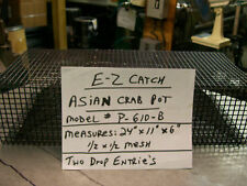 E-Z Catch Premium Quality Hand Made Asian Crab Bait Pot for Blackfish Bait P-610