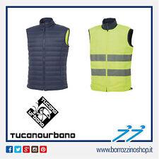 Gilet Uomo Tucano Urbano Switch Blu-giallo Fluo Taglia 52it-xl
