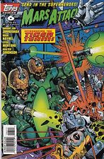 MARS ATTACK S NUMBER 6 MARCH 1996 TOPPS COMICS INTRODUCING THE TIGER TEAM!