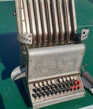 Brand Junior Automatic Cashier USA 1920 alte Rechenmaschine