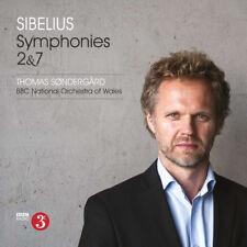 Jean Sibelius : Sibelius: Symphonies 2 & 7 CD (2018) ***NEW***