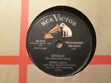 MARIO LANZA - Behold! / A Night To Remember  RCA VICTOR 20-6915 - 78rpm
