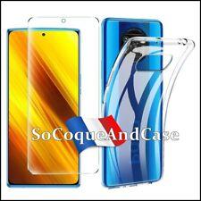 Etui Coque Silicone Crystal Drop Clear Shockproof TPU case cover Xiaomi Poco X3