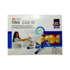 3m Espe Dental Filtek Z350 Xt Kit 4 Syringes Universal Bond 3ml Flow