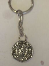 Aethelred II Coin WC3 Made From Fine English Pewter on a Split Ring Keyring
