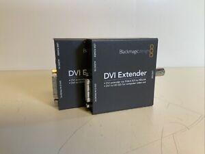 Lot Of 2 Blackmagic Design DVI Extender