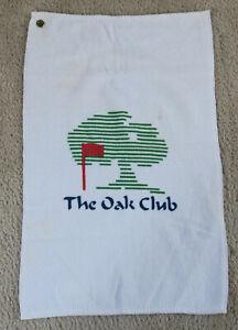 The Oak Club Vintage Golf Course Bag Towel - Unknown Location