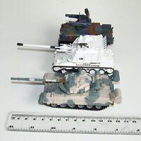 1:72 Die-Cast Army Tank Models x 3 AMX-30R Anti-Aircraft  Soviet T-80 AMX Auf-1