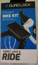 Genuine QUAD LOCK Bike Kit for iPhone / Galaxy NEW