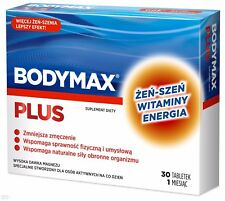 BODYMAX PLUS-30 tablets - improve physical and mental health,vitamins,supplement
