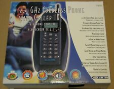 Curtis 2.4 GHz Cordless Phone with Caller ID Model TC970