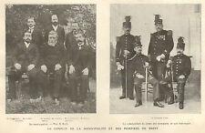 BREST LE CONFLIT DE LA MUNICIPALITE ET DES POMPIERS ARTICLE DE PRESSE 1904