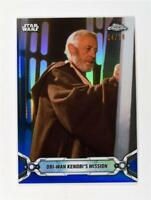 2019 Topps Chrome Star Wars Blue #92 Obi-Wan Kenobi's Mission /99
