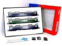 ROCO HO GAUGE 44098 3 COACH SET TOUROPA REISEN SHARNOW MINT BOXED
