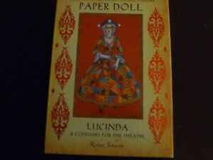 The Enchanted Doll House Theatre Paper Doll Lucinda costumes