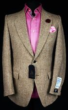 Harris Tweed Blazer Jacket Wedding Country Horse Races 38R EXCEPTIONAL BNWT 773