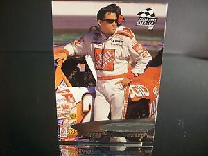 Tony Stewart #20 Home Depot Press Pass Stealth Rookie Year 1999 Card #31