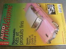 $$ Revue Auto modélisme N°5 Nascar  Temporada 70  Modelex 95  Ford GT 40  F 50