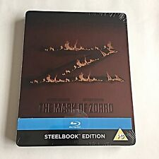 The Mask of Zorro Blu-Ray Steelbook [U.K.] Debossed Edition! Region Free! NEW!