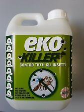 EKO KILLER Insetticida antiparassitario 2 Lt, no gas, no macchie, no odori