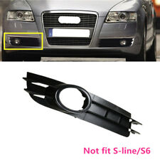 Fit For AUDI A6 C6 Estate / Saloon Right Side RH Front Fog Light Grille Grill