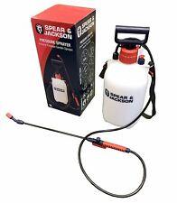 More details for spear and jackson pump sprayer garden action pressure plant spray bottle 5l