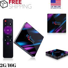 H96 Max RK3318 Android 9.0 Smart TV Box 2G/16G Quad Core 4K HD WiFi Media Player
