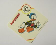 VECCHIO ADESIVO / Old Sticker DISNEY HOME VIDEO PAPERINO Donald Duck (cm 8x8)