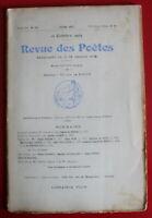 1909 - Revue des Poètes - N° 137 - W. Chapman, Louis de Cardonnel...