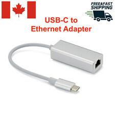 USB Type C 3.1 USB-C to Ethernet RJ45 Adapter Internet LAN Network Cable Hub