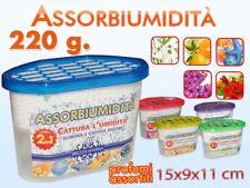 Deumidificatore Vaschetta Assorbi Umidita' Con Cristalli Varie Profumazioni dfh