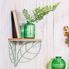 Corner Shelf (Green Leaf Design)