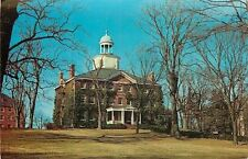 """Annapolis Maryland~St Johns College~McDowell """"Great Hall""""~Cupola~1950s Postcard"""
