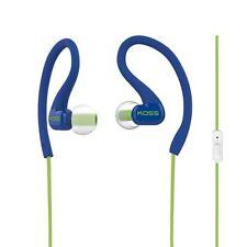 Koss KSC32i Ear Clip Sports Earphone Microphone Blue