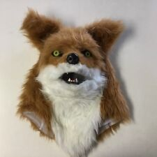 Fox Mask Mouth Moves Animal Halloween Costume by Elope