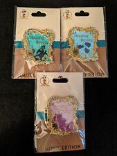 Disney Pin * Dec Exclusive Sleeping Beauty 60th Anniversary 3 Pin Set