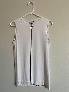Assos Summer Sleeveless Skin Base Layer NS Men's Large L White II