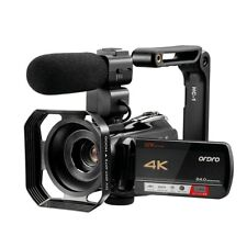 Vlogging Camera 4K Video Camcorder Professional for YouTube Blogger, Ordro AC5