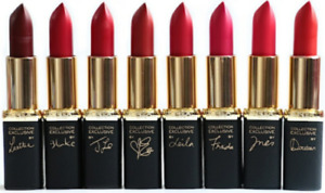 Loreal Colour Riche Collection Exclusive Matte Lipstick CHOOSE YOUR SHADE New