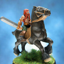 Painted I-Kore Celtos Miniature Roth Mac Morn on Battle Steed
