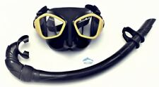 Mask and Snorkel Set for Diving, Freediving and Spearfishing WIL-DS-27Y