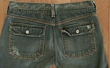 Diesel Jeans Womens Wide Leg Nadar  Flap Pockets  Sz 26
