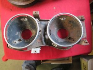 63 FORD GALAXIE  XL 1963 Headlamp Bucket Assembly passenger side