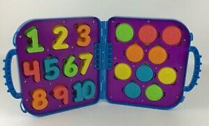 Playskool Sesame Street Cookie Monster's On The Go Numbers Playset Learning 2015