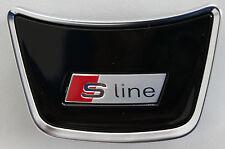 Genuine Audi A1 8X S-Line Original Steering Wheel Logo Emblem Cover badge