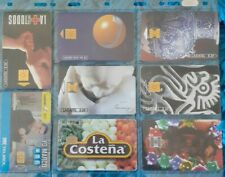 Pre-owned used Collectible Latadel phone cards with chips keepsakes